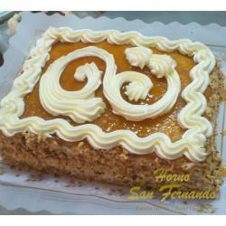 Tarta de Yema tostada