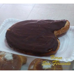 Palmera de chocolate